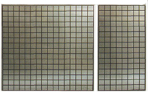Three Inch On Center Grid Wall Panels